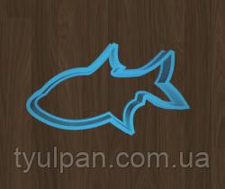 Вырубка кондитерская для пряника мастики марципана рыбка