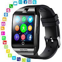Смарт годинник чоловічий UWatch Smart Q18 UWatch NFC Black