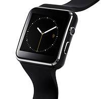 Смарт часы мужские UWatch Smart X6 UWatch Nano Black