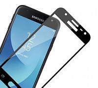 Защитное стекло Full Cover Samsung J330, Black