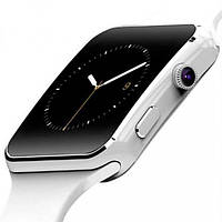 Смарт часы женские UWatch  Smart X6 White