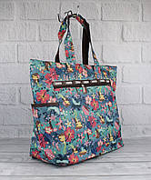 Сумка шоппер большая LeSportsac 9802-03 разноцветная текстильная, фото 1