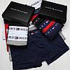 Подарочный набор мужских трусов боксеры 3 шт в подарочной упаковке, фото 3