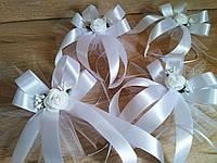 Украшение свадебных машин Rose (1 шт). Цвет белый.