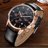 Мужские кварцевые часы Guanquin Digit с хронографом и сапфировым стеклом