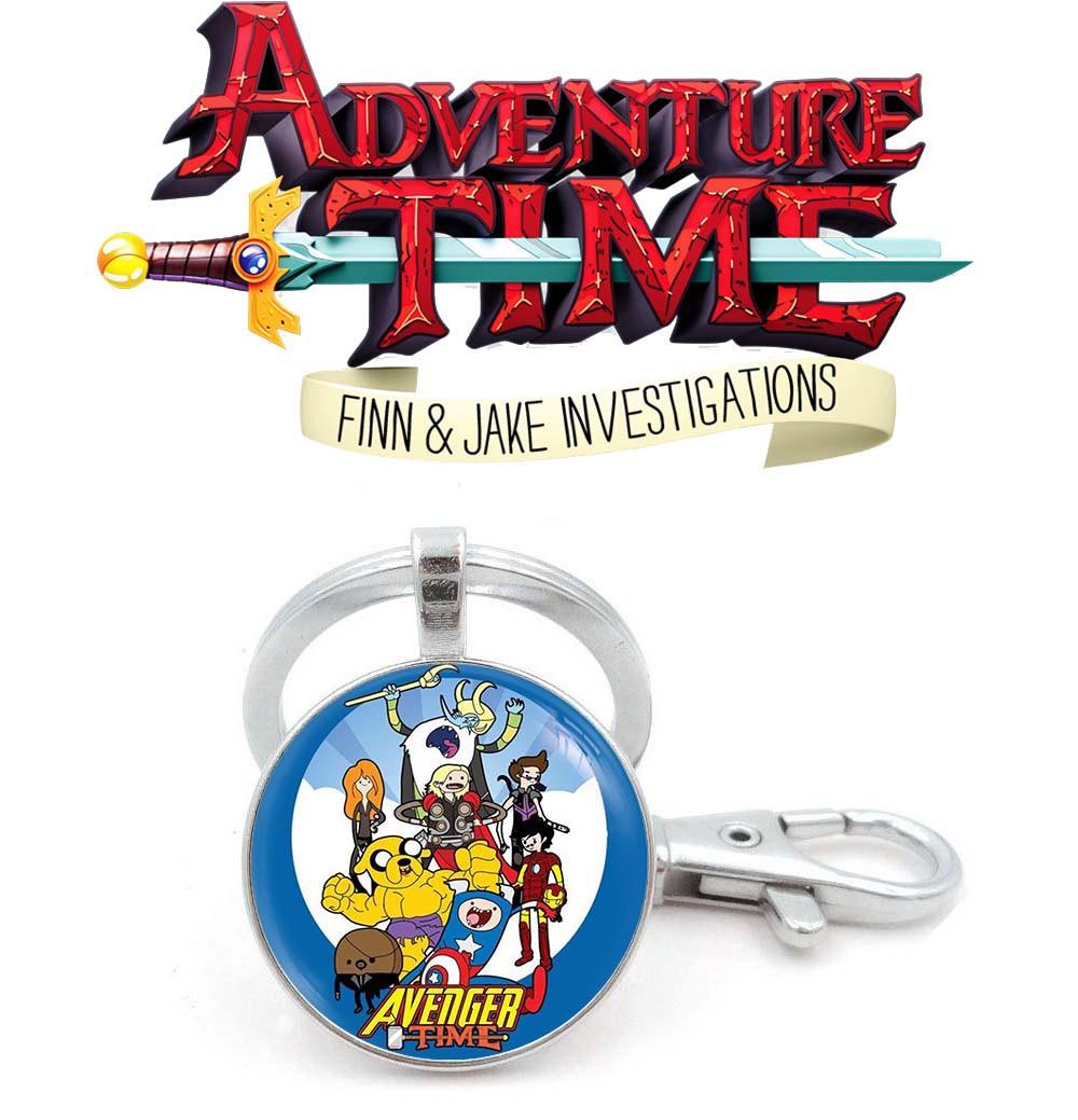 Брелок Финн и Джейк Мстители Время приключений / Adventure time