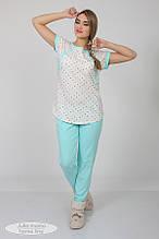 Комфортная пижама для беременных и кормящих (домашний костюм)  - Relax NW-5.5.2