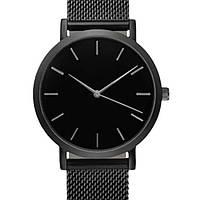 Женские классические часы Geneva Field Black