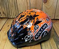 Шлем детский KLS Mark оранжевый