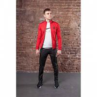 Спорт костюм Adidas ND91 красно-черный осень О