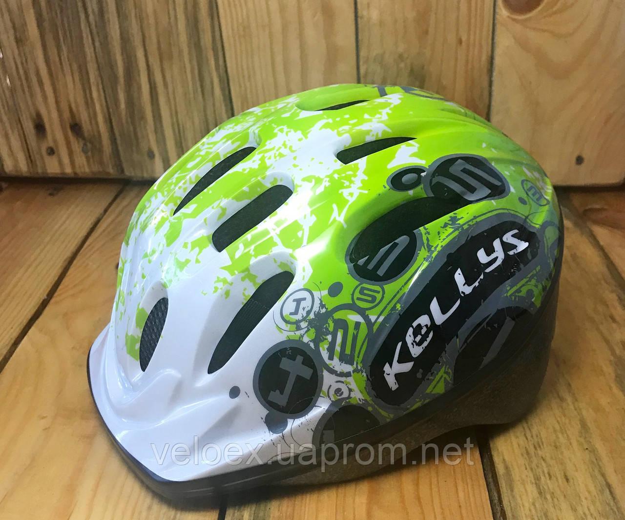 Шлем детский KLS Mark зеленый