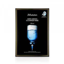 JMsolution Water Luminous S. O. S. Ringer Тканинна маска з 3 видами гіалуронової кислоти, пептидів і колагеном