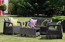 Corfu Set садові меблі з штучного ротанга