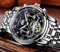 Мужские механические часы с сапфировым стеклом Carnival First (автоподзавод, 25 камней)