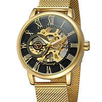 Женские механические часы Forsining Rich Gold II