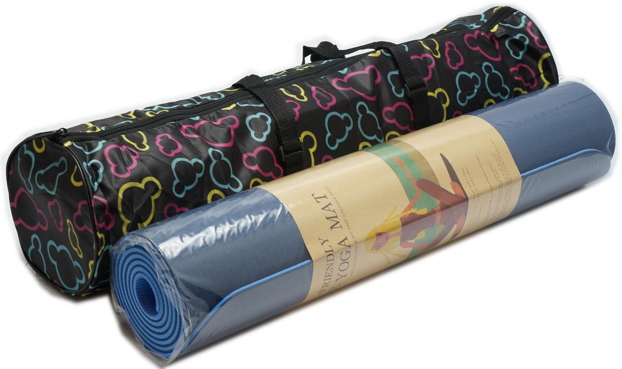Чехол для коврика 68 см., молния, две ручки + наружный карман
