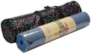 Чехол для коврика 68 см., молния, две ручки + наружный карман, фото 3