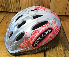 Шлем детский KLS Mark серебро