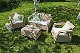 Corfu Set садовая мебель из искусственного ротанга, фото 2