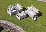 Corfu Set садовая мебель из искусственного ротанга, фото 9