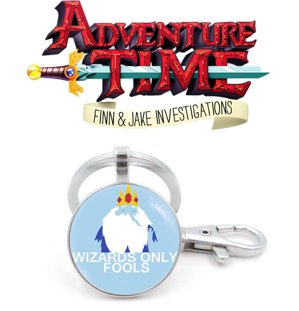 Брелок Wizards only Время приключений / Adventure time