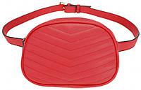 Женская сумка на пояс Adleys Красная (BB232)
