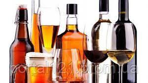 Безалкогольные жидкие смеси для приготовления напитков (вино лимонад)