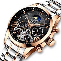 Мужские механические часы с автоподзаводом Megalith Prestige