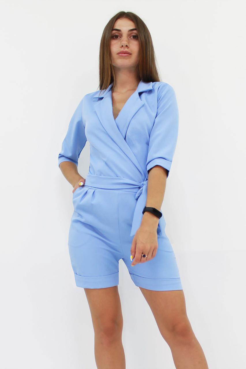 S, M, L / Молодіжний жіночий комбінезон Kaily, блакитний