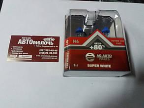 Лампа H4 24V 70W +50% AG Auto к-кт с 2-х шт.