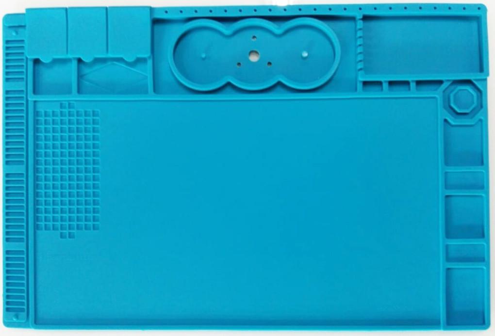 Коврик для пайки платформа для микроскопа TE-506 с силиконовым термостойким покрытием 490*330мм