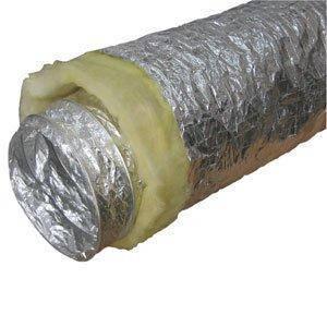 """Воздуховоды гибкие изолированные 400 мм (16""""), фото 2"""