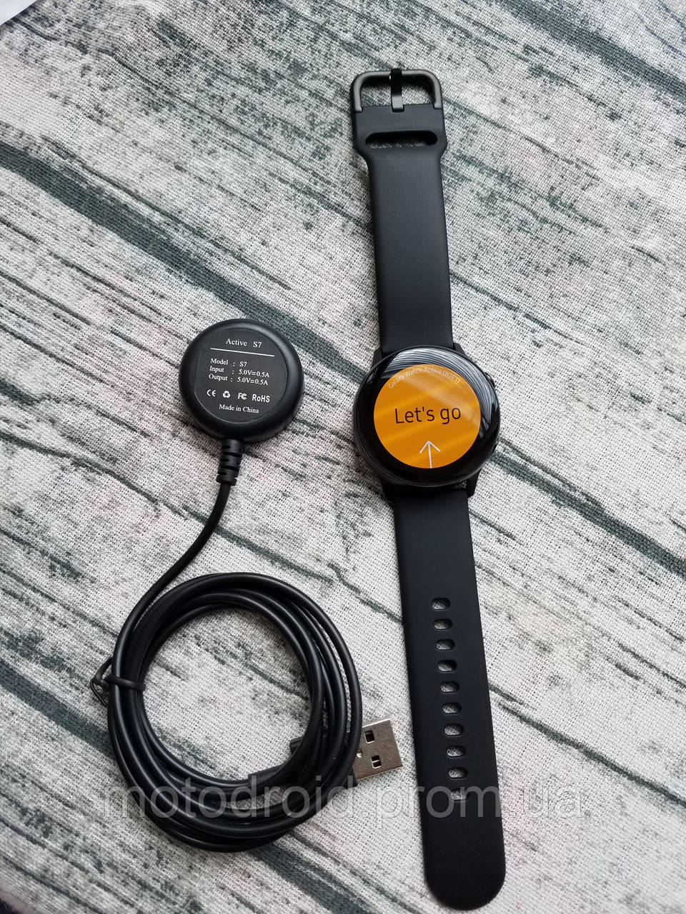 Смарт-часы Samsung Galaxy Watch Active (Black) SM-R500