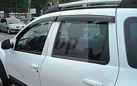 Дефлекторы окон (ветровики) Renault duster (рено дастер 2010+)