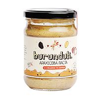 Арахісова паста Burunduk зі спеціями та родзинками 250г