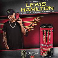 Monster Energy Lewis Hamilton 500 ml (монстер енергетик напиток )