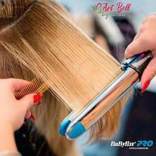 Профессиональный утюжок для волос   Регулятор температуры  Автоматическая плойка BaByliss PRO Optima 3000 CG24 PR5, фото 3