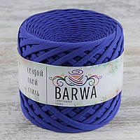 Трикотажная пряжа BARWA uitra light 3-5 мм, Синий кобальт (cobalt blue)