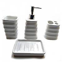Набор для ванной керамический (29х20,5х10 см) ( 32095)