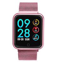 Смарт часы женские UWatch  Smart Z120 Pink