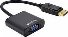 Адаптер, переходник HDMI - VGA Male - VGA Female HD 1080P, 0.18 м Черный