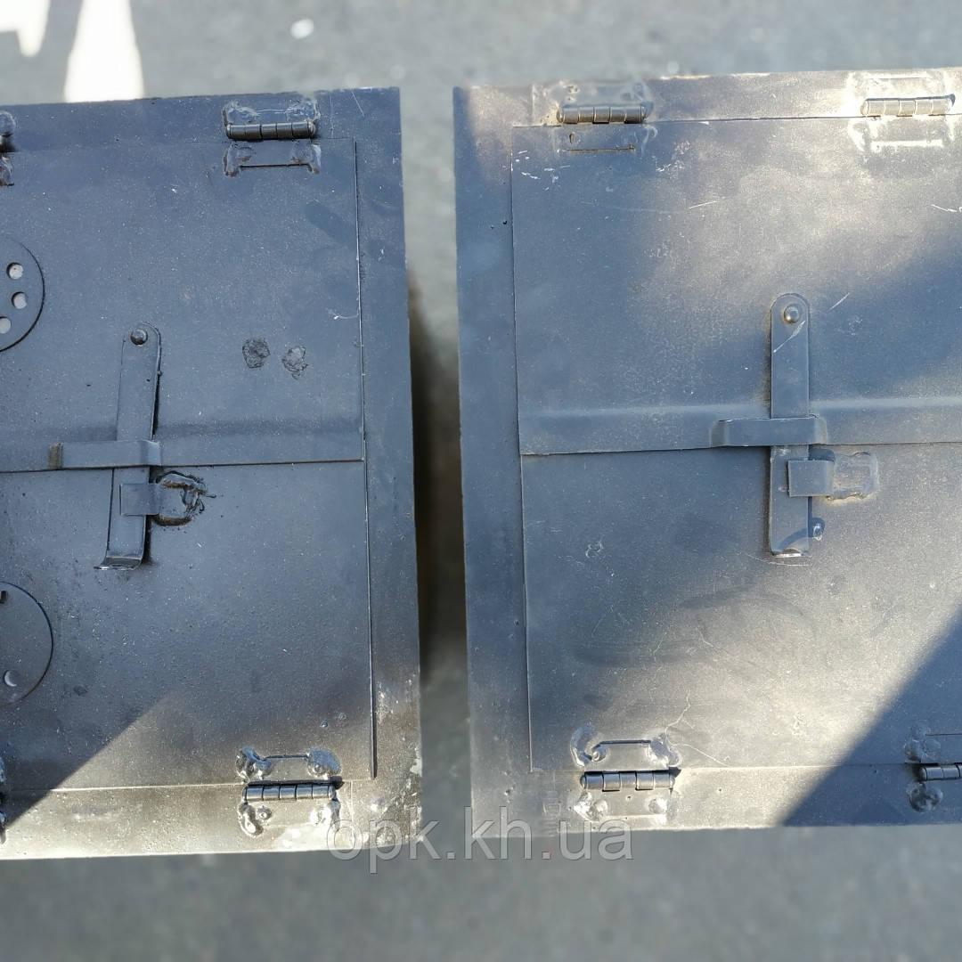 Духовка металлическая  S-2 мм 300*300*400 мм (вес - 14 кг) заказ размер