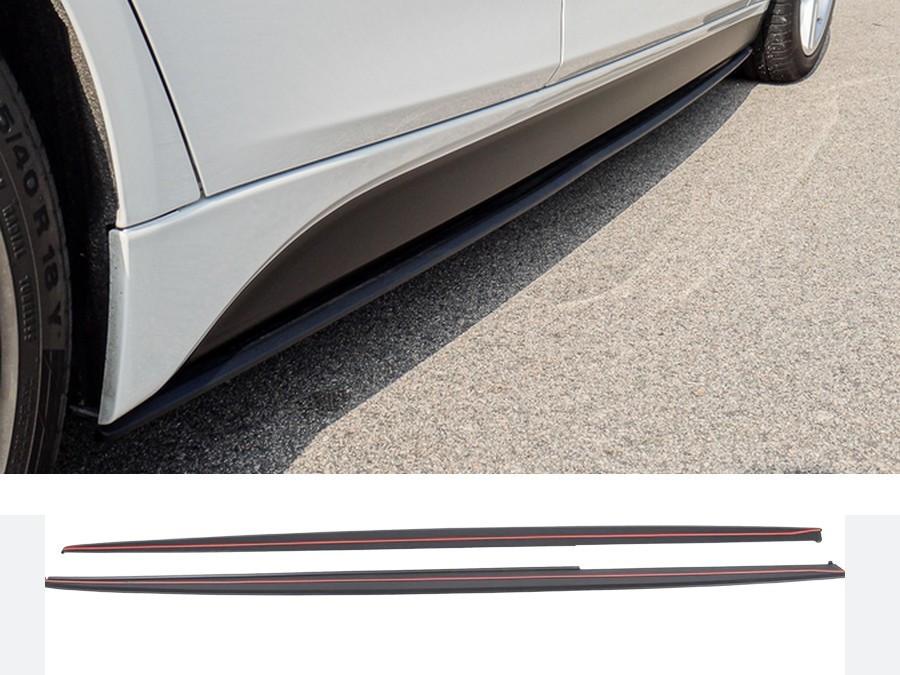 Юбки листва сплиттер под пороги BMW F30 стиль M Performance