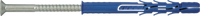 R-FF1-L-DT Рамный фасадный дюбель с шурупом с потайной головкой в покрытии DP KL 101