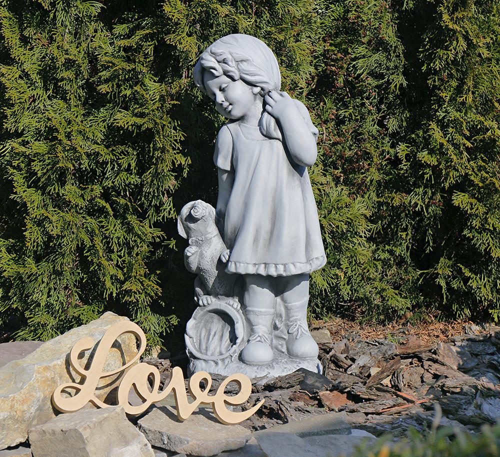 Садовая фигура скульптура для сада Девушка из провинции 26×20.5×60.5cm SS0876-16 статуя