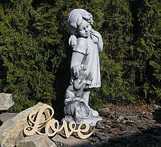 Садовая фигура скульптура для сада Девушка из провинции 26×20.5×60.5cm SS0876-16 статуя, фото 2