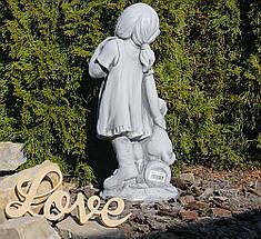 Садовая фигура скульптура для сада Девушка из провинции 26×20.5×60.5cm SS0876-16 статуя, фото 3