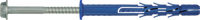 R-FF1-K-A4  Рамный фасадный дюбель с шурупом с шестигр. головкой из нерж.стали А4