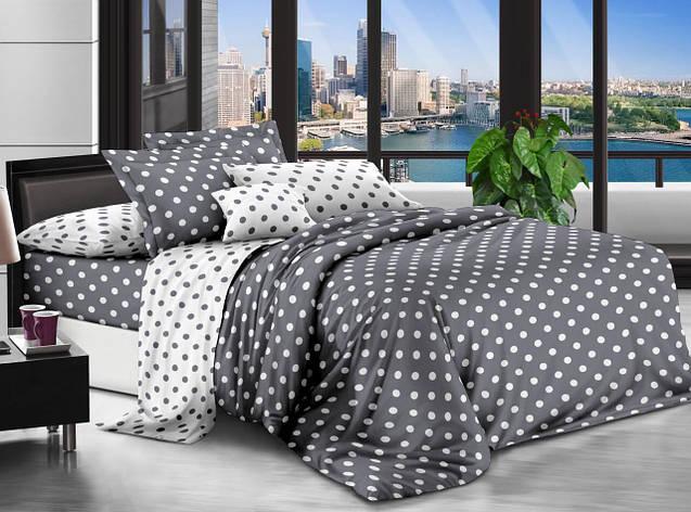 Двуспальный комплект постельного белья евро 200*220 хлопок  (12721) TM KRISPOL Украина, фото 2