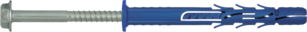 R-FF1-K Рамный фасадный дюбель с шурупом с шестигр. головкой из оцинк. стали